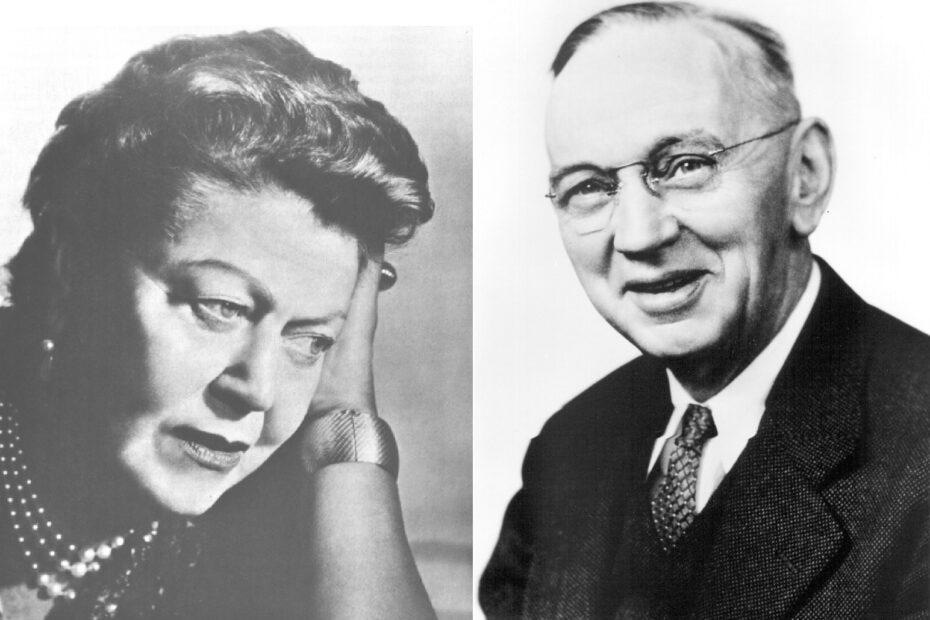 Eileen Garrett & Edgar Cayce